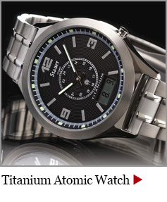 Stauer Titanium Atomic Mens Watch