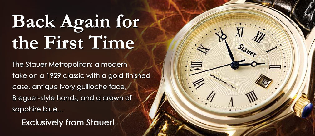 Stauer jewelry and watches from the Stauer watch catalog
