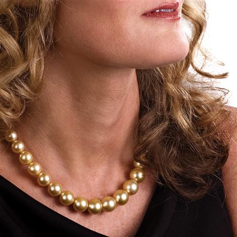 GENUINE SOUTH SEA PEARL NECKLACE