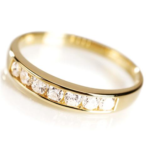 Gold Vermeil Classic Channel Set Ring