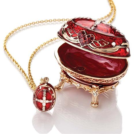 Rose Bud Egg & Pendant