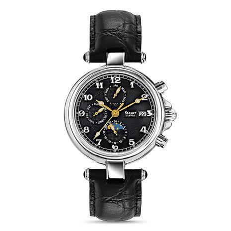Stauer Stainless Steel Noire Watch Stauer Online Discount