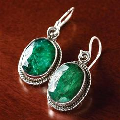 Carnaval Emerald Earrings
