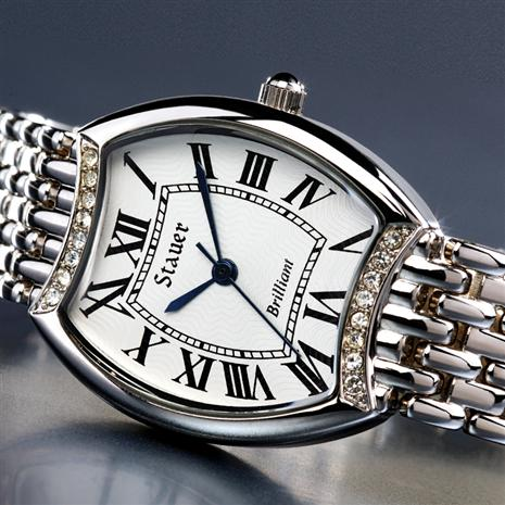 STAUER GENUINE DIAMOND BRILLIANT WATCH
