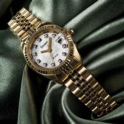 Stauer 11-Diamond Swiss Movement Ladies Watch