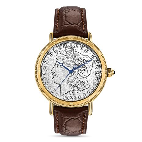 Morgan Silver Dollar Mens Watch