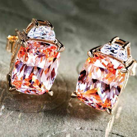 DiamondAura Cognac Earrings