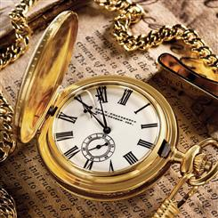 George W. Chatterton Lincoln Pocket Watch