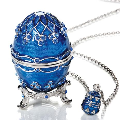 Royal Clover Egg & Pendant