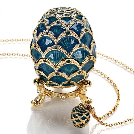 Viridian Sea Egg & Necklace