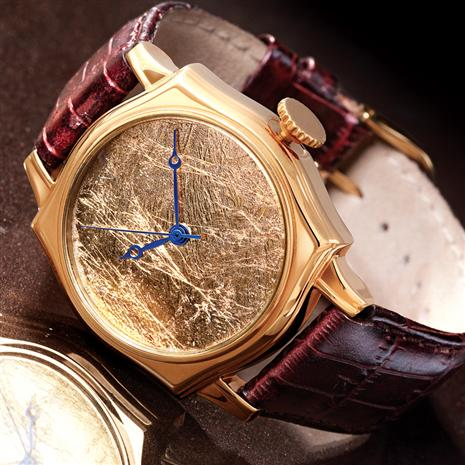 Stauer 24K Gold-Leaf Watch Stauer Online Discount