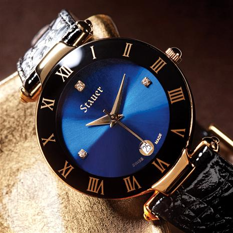 Stauer Minuit Swiss-Made Timepiece Stauer Online Discount