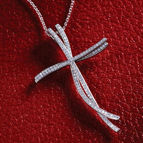 DiamondAura Endless Faith Necklace