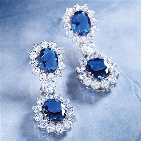 ROYAL PALACE EARRINGS (13 1/2 CTW)