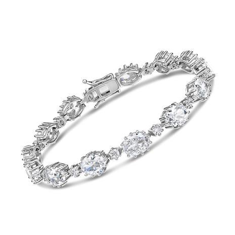 Diamondaura Riviere Bracelet Stauer Online Discount