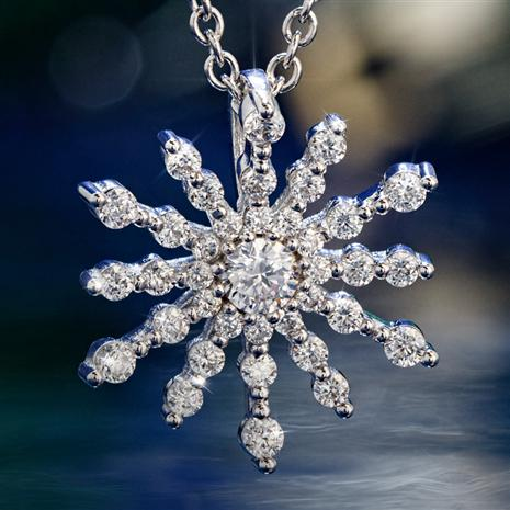 DIAMONDAURA STAR PENDANT