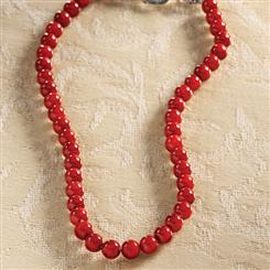 Fire Coral Necklace