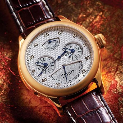 Meridian Power Reserve Watch & $300 In Coupons Stauer Online Discount