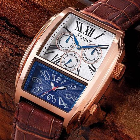 Stauer Equinox Dual Watch Stauer Online Discount