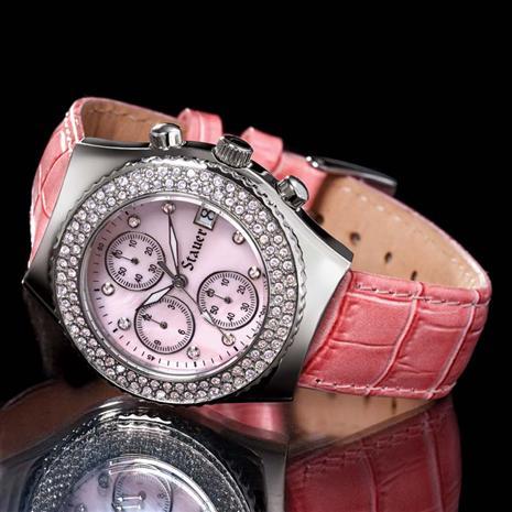 Fontus Diamondaura Timepiece (1 Ctw) Stauer Online Discount
