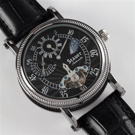 Stauer Black Dial Series 7 Regulator Ii Timepiece Stauer Online Discount