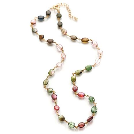 Voltare Multi-Tourmaline Necklace