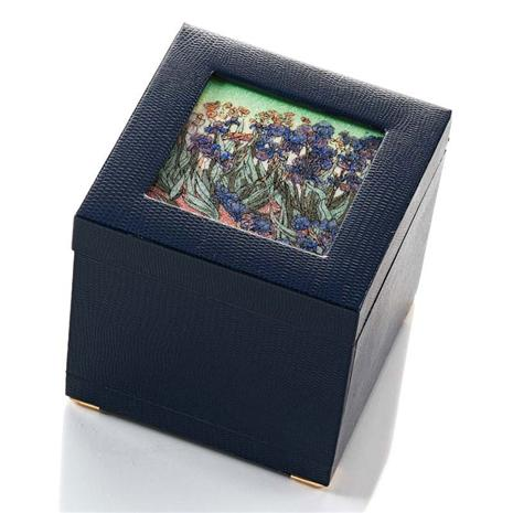 ART GEMS- IRISES- JEWELRY BOX