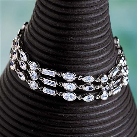Diamondaura Chandelier Bracelet (15 1/3 Ctw) Stauer Online Discount