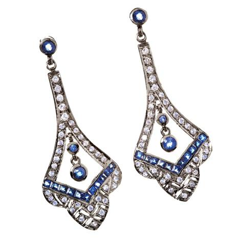CABARET NATURAL SAPPHIRE EARRINGS