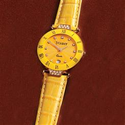 Stauer Citrine Swiss Ladies Timepiece