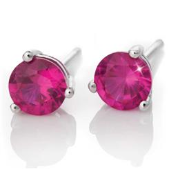 Scienza® Ruby Stud Earrings