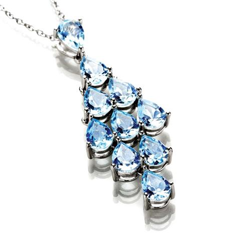 AQUARIA BLUE TOPAZ Necklace