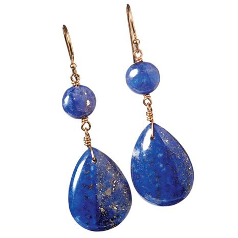 Leonardo Lapis Earrings