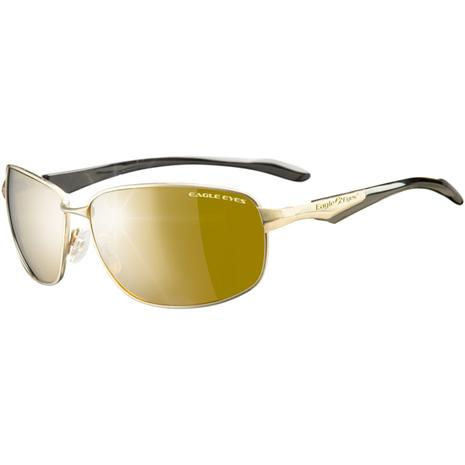 Eagle Eyes Endeavor Gold Frames Sunglasses