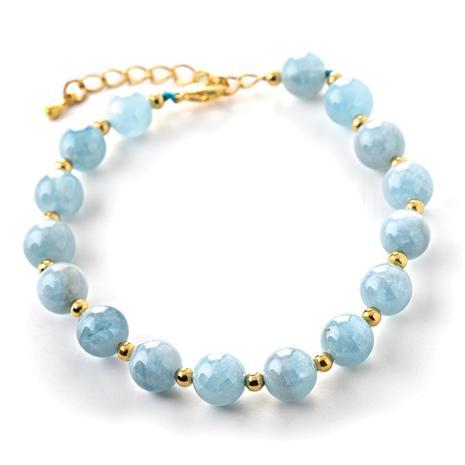 Mar Aquamarine Bracelet @Stauer