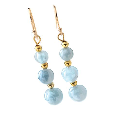 Mar Aquamarine Earrings
