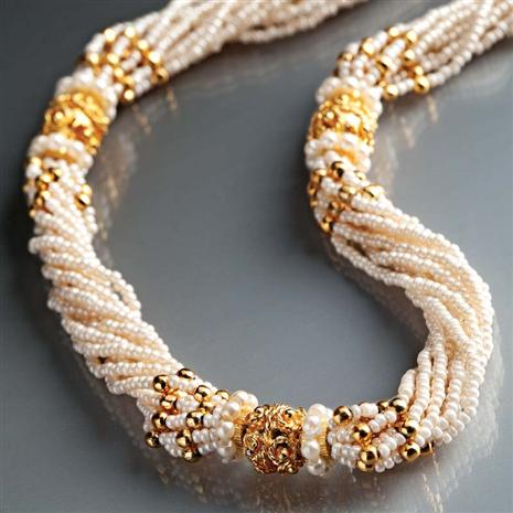 NIZAM SEED PEARL NECKLACE