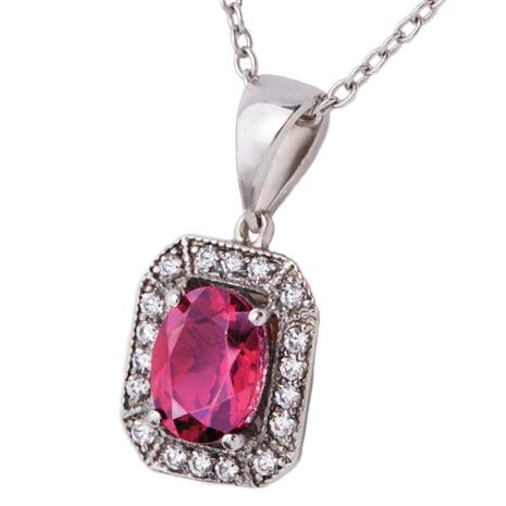 Silenda Rubellite Necklace