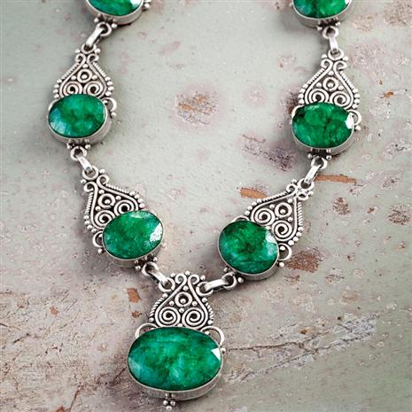 Castillo Emerald Necklace