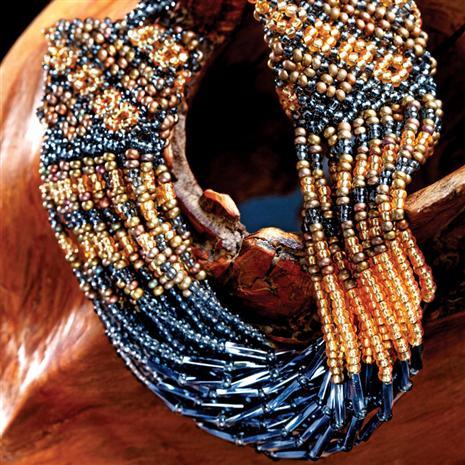 Amavovo Zulu браслет из бисера.