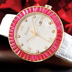 Stauer Scarlett Scienza® Ruby Watch