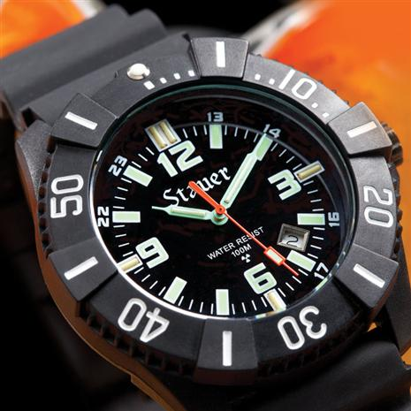 STAUER STEALTH TRITIUM WATCH