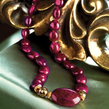 Voros Ruby Necklace