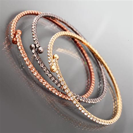 Lotus Memory Wire Bracelets Stauer Online Discount