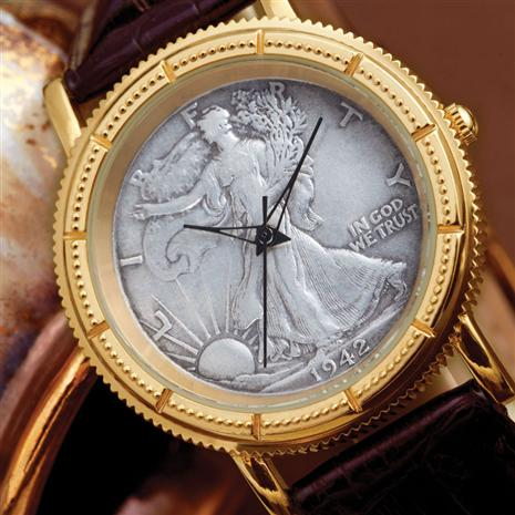 Walking Liberty Coin Watch Stauer Online Discount