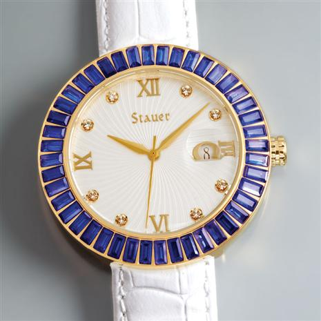 LADIES LAB SAPPHIRE QUARTZ WATCH