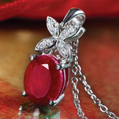 Reverie Ruby Pendant