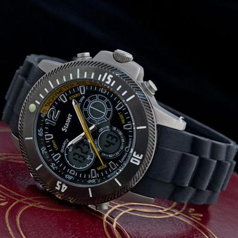 Stauer Titanium Colossus Hybrid Watch