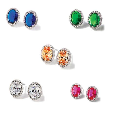 Diamondaura Spectra Earrings Collection Stauer Online Discount