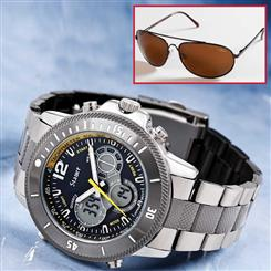 Colossus Hybrid Watch & FREE Flyboy Optics® Sunglasses